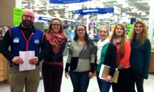 Posing with Lowes