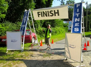 The First Mile finish line