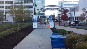 Stamford Standup Finish Line